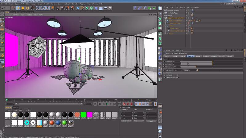 C4D贴图预设 HDRi Studio GENERATOR Tool For Cinema 4D-AE模板网
